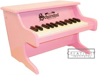 Schoenhut 2522P 25 Key My First Piano II Toy Piano - Pink - 2522P