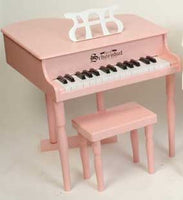 Schoenhut 309P 30-Key Classic Baby Grand Toy Piano - Pink