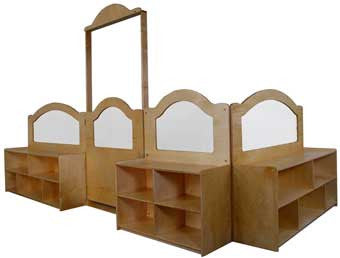 Strictly for Kids Mainstream Wave Design Room Divider System