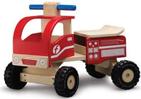 Smart Gear Wonderworld Toys Ride-On Fire Engine