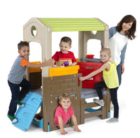 Simplay3 Young Explorers Indoor-Outdoor Discovery Playhouse - The Creativity Institute