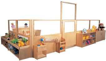 Strictly for Kids Deluxe Room Divider System, 48''h - SK3200