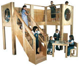 Strictly for Kids Deluxe Explorer 10 School Age Loft, Expanded Size