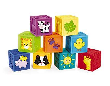 Squeak 'n Stack Blockx, Set of 9