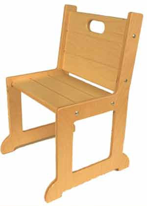 TAG Toys Wooden Chair - F-205