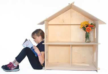 Timberworks Toys Large Dollhouse - The Creativity Institute