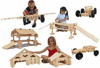 Timberworks Toys King Set Wooden Construction Set - The Creativity Institute