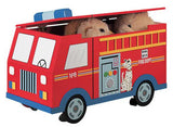 Teamson Kids W-4007A Fire Engine Toy Chest