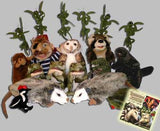 """Treasure Swamp"" Puppet Set and CD Soundtrack"