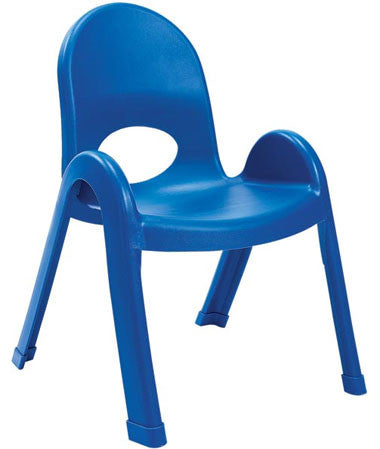 "Angeles AB7711PB4 Value Stack 11"" Chair 4 Pack - Blue"