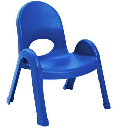 "Angeles AB7709PB4 Value Stack 9"" Chair 4 Pack - Blue"
