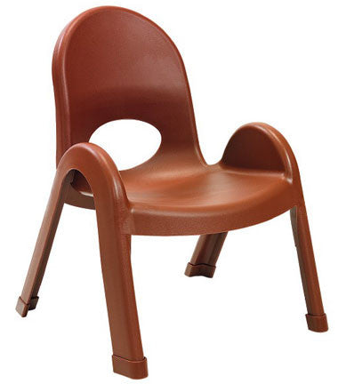 "Angeles AB7709CB4 Value Stack 9"" Chair 4 Pack - Cocoa"