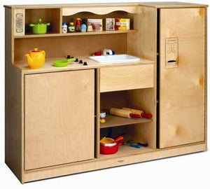 Whitney Brothers Preschool Kitchen Combo - WB0770 - The Creativity Institute