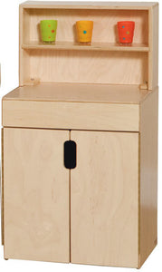 Wood Designs Tip-Me-Not Kitchen Hutch - 20780 - The Creativity Institute