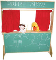Wood Designs Deluxe Play Theater with Chalkboard Panels - 21650 - The Creativity Institute