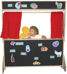 Wood Designs Deluxe Play Theater with Flannel Panels - 21652