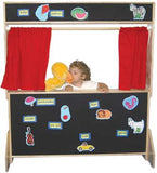 Wood Designs Deluxe Play Theater with Flannel Panels - 21652 - The Creativity Institute