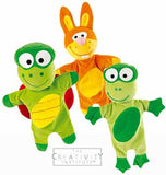 Wesco Swamp Puppet Set - Frog, Turtle and Rabbit Puppets