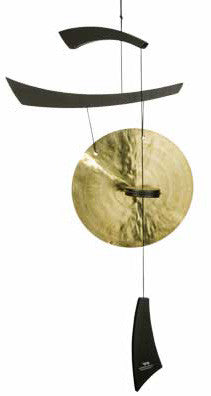 Woodstock Chimes Emperor Gong - Black - EGCB