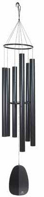 Woodstock Chimes Windsinger Chimes of King David - Black