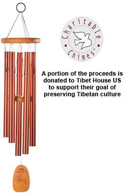 Woodstock Chimes Tibetan Prayer Chime - TPCBR