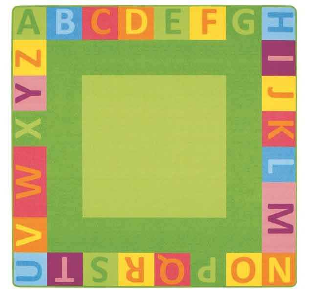 Wesco Alphabet Giant Square Mat 47026