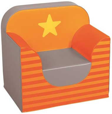 Wesco Star Armchair - Orange