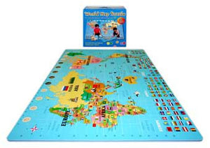 Alessco 1355 Play & Learn World Map SoftFloors