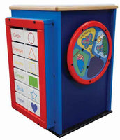 Gressco Multi-Sensory Learning Cube, AMH-SST352 - The Creativity Institute