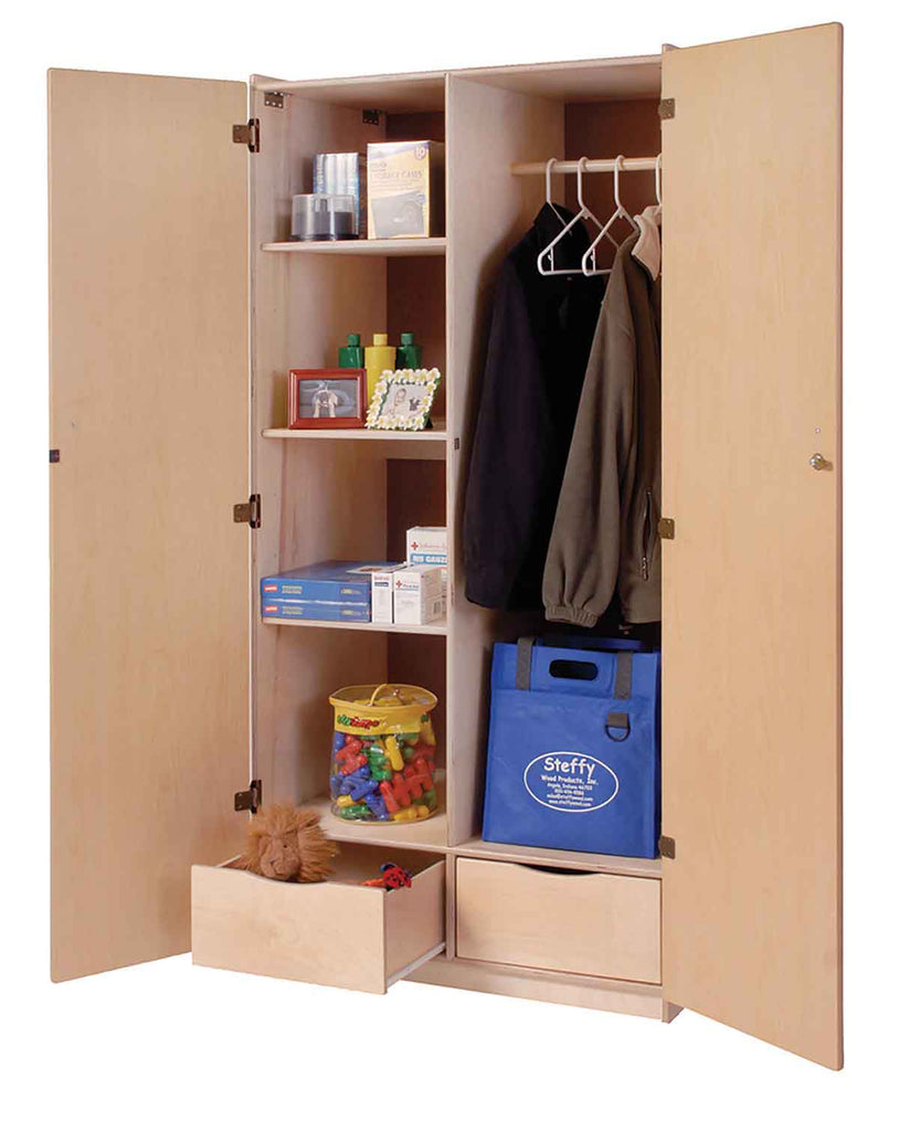 Angeles ANG1519 Teacher's Locking Storage Cabinet - The Creativity Institute