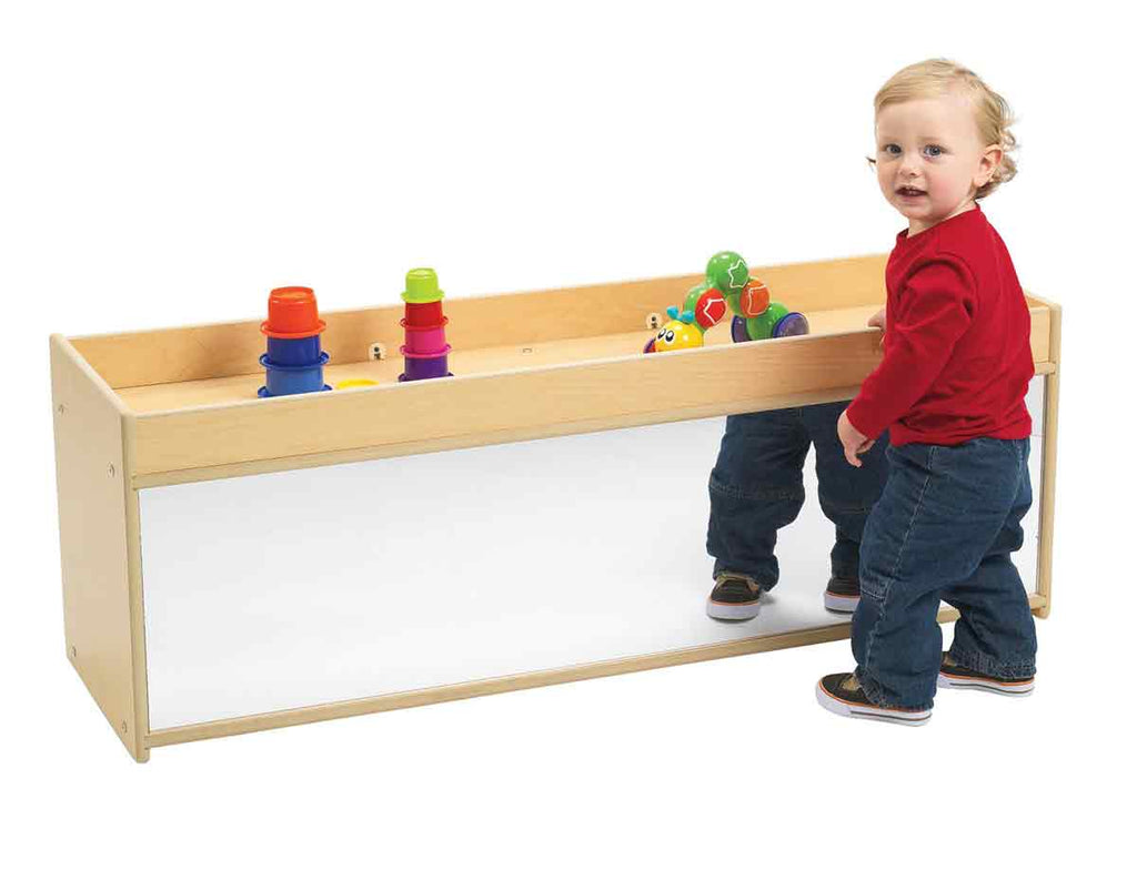 Angeles Value Line Toddler Storage with Mirror Back ANG7177
