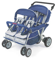 Angeles SureStop Folding Commercial Bye-Bye Stroller - 4 Passenger - QUICK SHIP!
