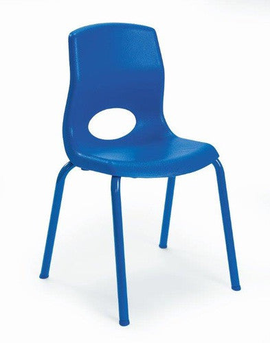 "Angeles AB8014PB4 MyPosture 14"" Chair 4 Pack - Blue"