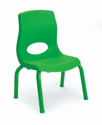 "Angeles AB8010PG MyPosture 10"" Chair - Green - The Creativity Institute"