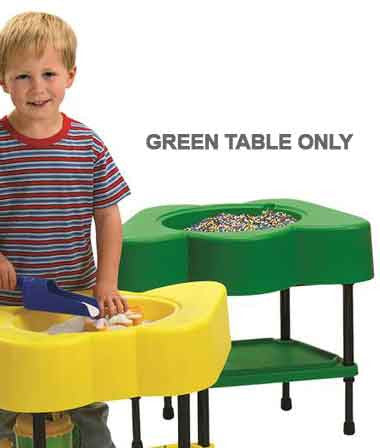 Angeles AFB5100PG Sensory/Activity Table - Shamrock Green