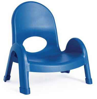 "Angeles AB7705PB Value Stack 5"" Chair - Royal Blue"