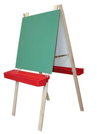 Beka 01300 Leg Brace Easel Red Trays