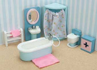 Le Toy Van ME060 Rosebud Daisylane Bathroom Dollhouse Furniture