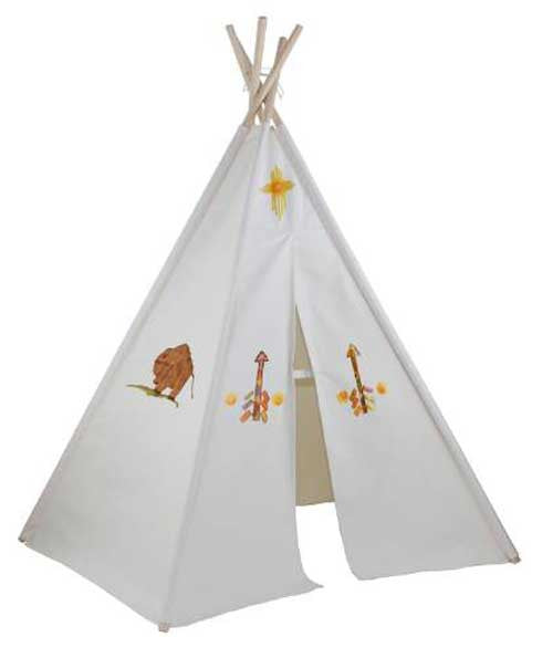 Dexton DX-3006M 6 ft. Hideaway Five-Panel Teepee with Washable Markers