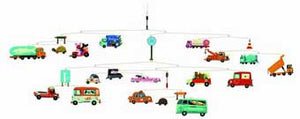 Djeco DD04309 Traffic Mobile
