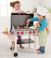 Educo E3127 Gourmet Grill with Food from Hape