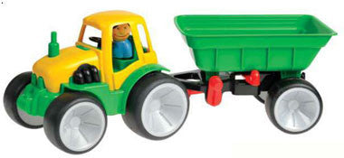 Gowi Toys Farm Tractor with Wagon - 561-08