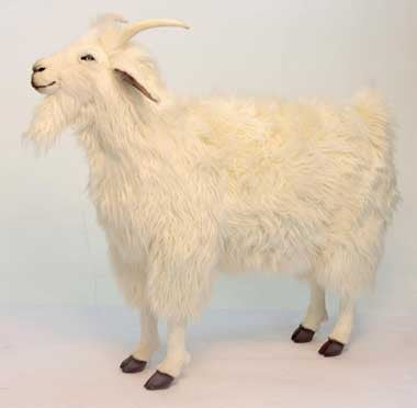 Hansa 6186 Cashmere Goat Plush Stuffed Animal
