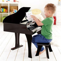 Hape E0320 30-Key Happy Grand Piano - Black