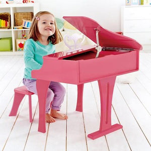 Hape E0319 30-Key Happy Grand Piano - Pink