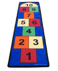 Learning Carpets Jumbo Large Hopscotch Rug - CPR748 - The Creativity Institute