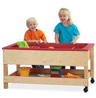 Jonti-Craft 2866JC Sensory Table with Shelf Toddler Height 20