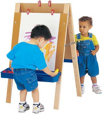 Jonti-Craft 4181JC Toddler Adjustable Art Easel