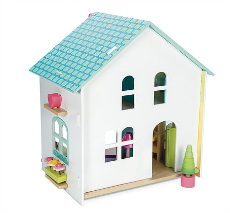 Le Toy Van Evergreen House Furnished Dollhouse - H171