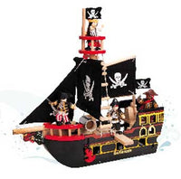 Le Toy Van Barbarossa Pirate Ship - TV246